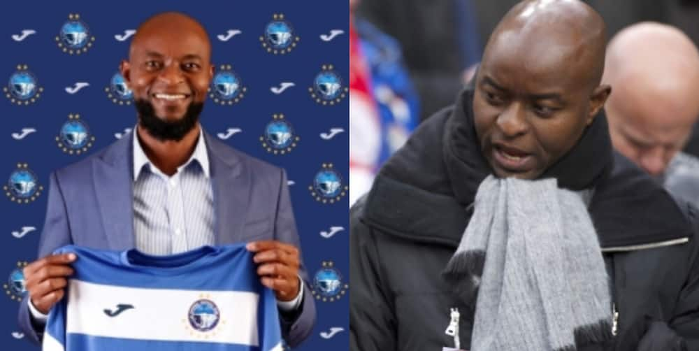 Ex-Super Eagles star who got big managerial appointment with NPFL club officially unveiled