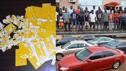 EFCC recovers cars, charms as 24 OOU students are arrested for cyber crime (photos)