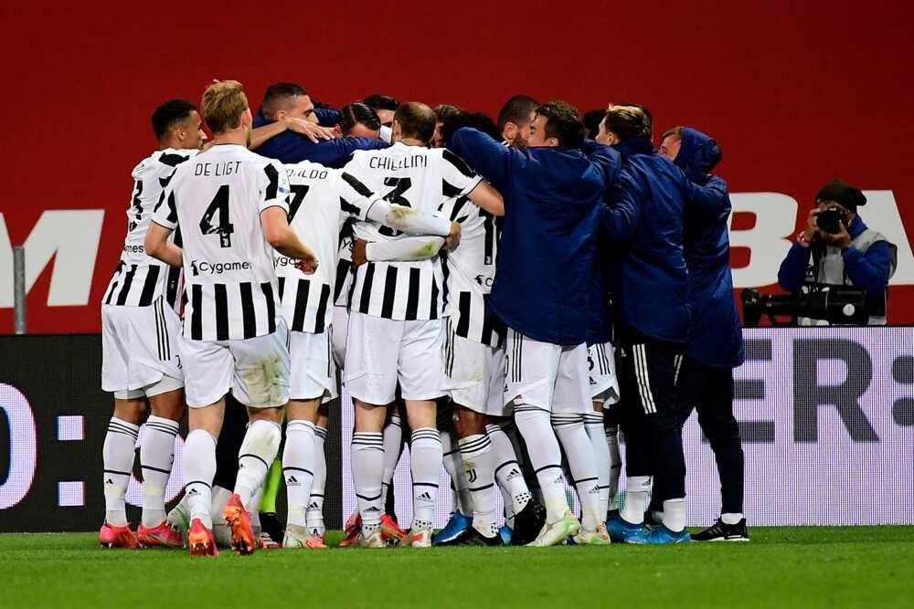 Juventus players.