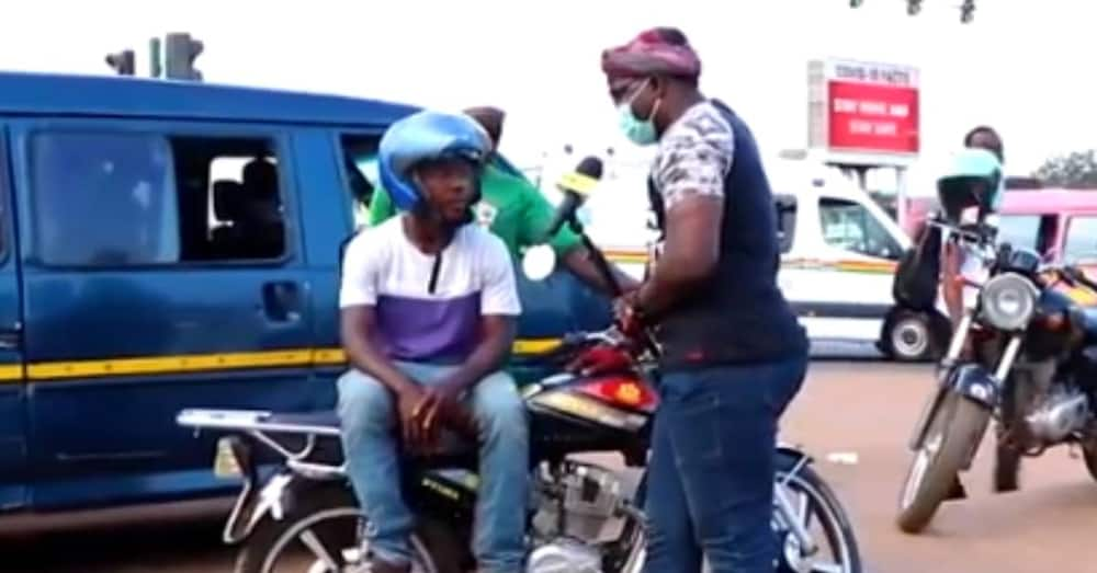 I've been able to buy land with my Okada business - Ghanaian father rider in the video