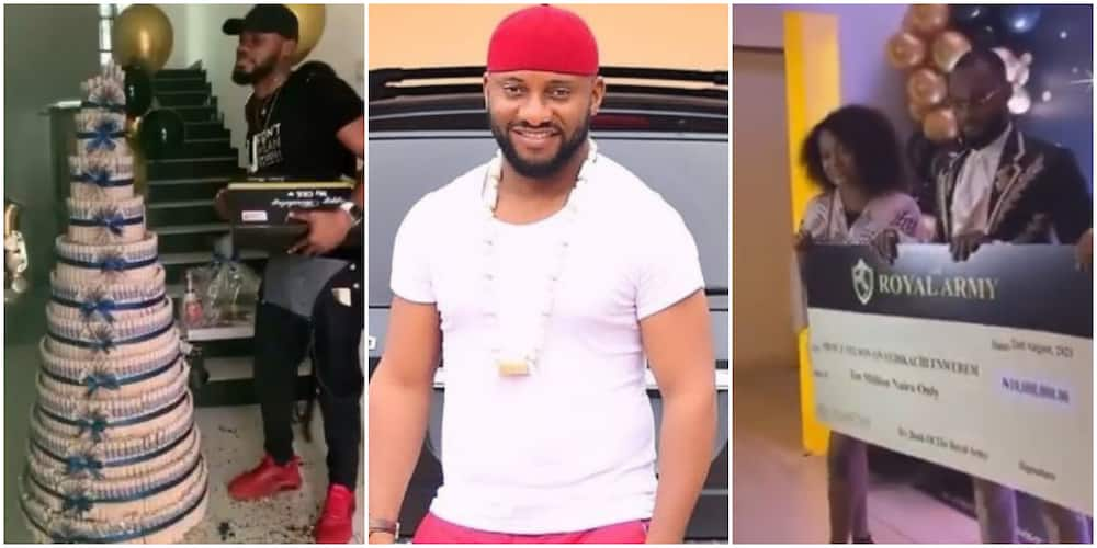 Yul Edochie reposts Prince's gifts