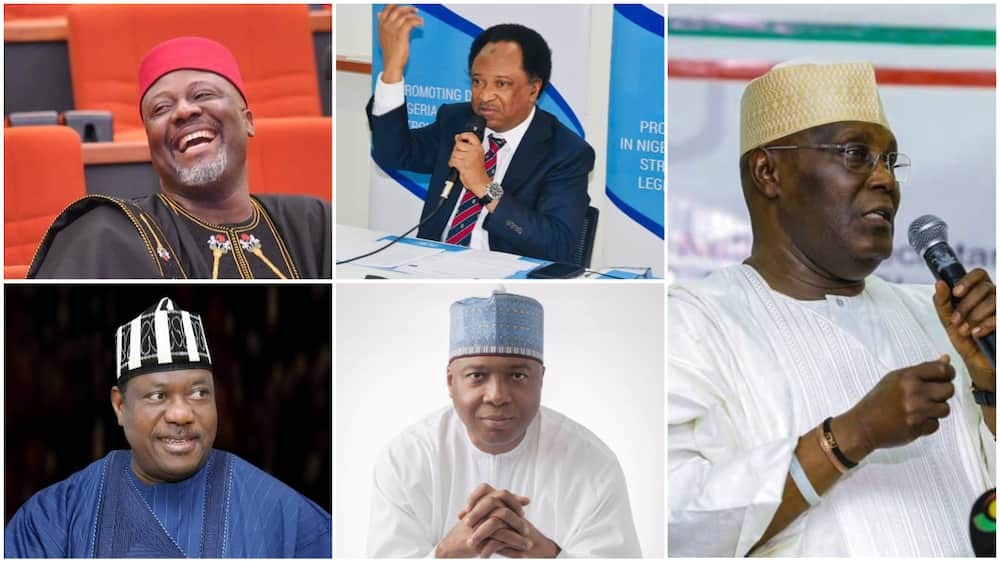 Atiku, Saraki, 3 Other Prominent Politicians Defeated in 2019 Who May Stage a Strong Comeback in 2023