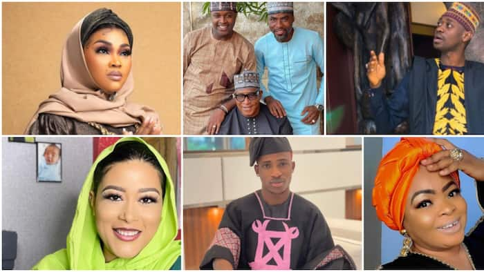 Mercy Aigbe, Iyabo Ojo, Lateef Adedimeji, and 11 others who dropped beautiful photos to celebrate Eid-el-Fitr