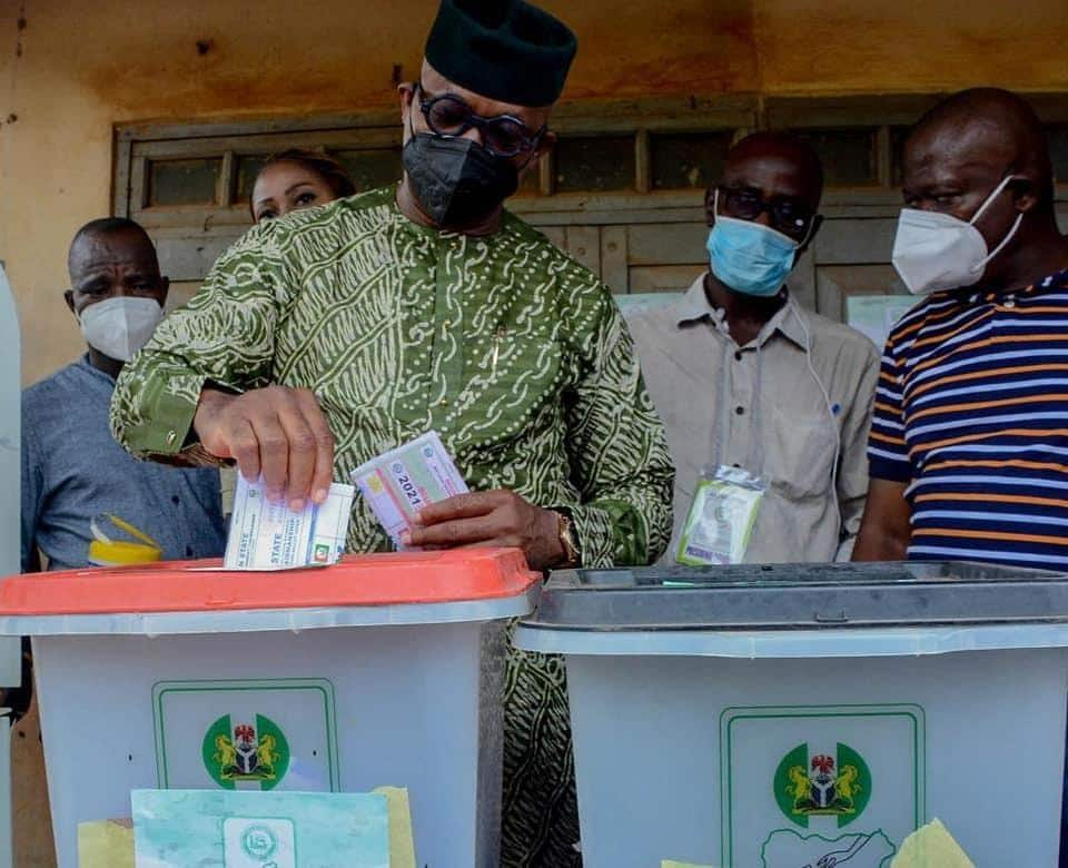 Photo from Ogun LG election
