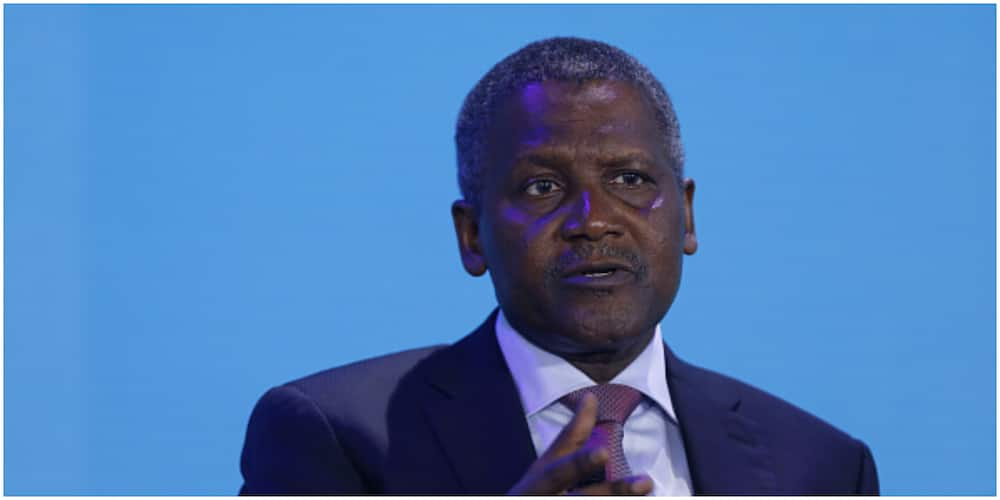 Aliko Dangote now ranked 117th in the latest global billionaires index