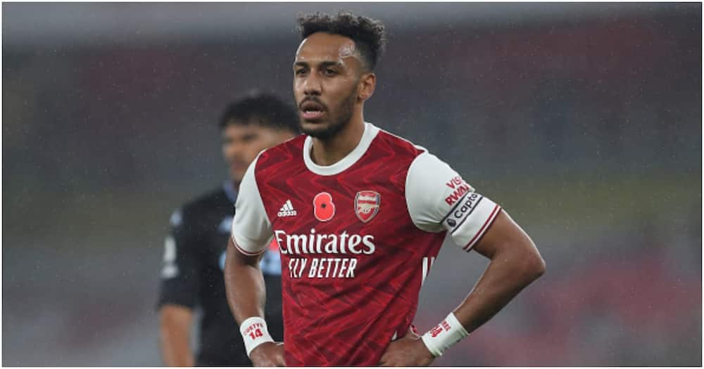 Pierre-Emerick Aubameyang fails to have shot on target for first time at Emirates in Arsenal career
