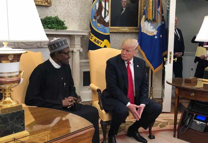 Poll shows Nigerians want Buhari to suspend visas for foreign workers to reduce unemployment just as Trump had done