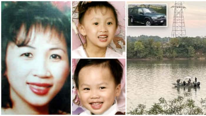 Vehicle of woman who went missing with her 2 kids in 2002 found in a river after 19 years, she had left a note