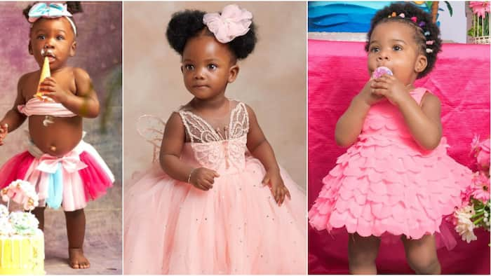 Singer Simi, Mercy Johnson, other celebs whose daughters clocked the big 1 in style