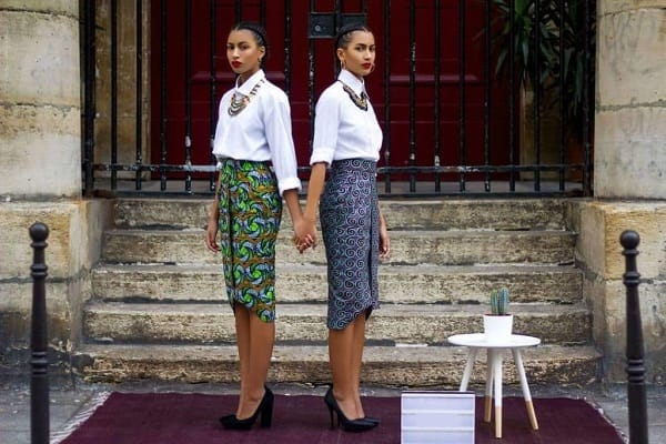 twin office skirt designs
