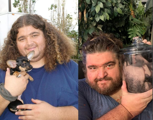 Jorge Garcia then and now