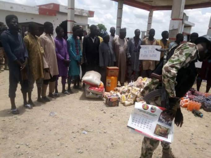 Some Boko Haram fighters have surrendered.