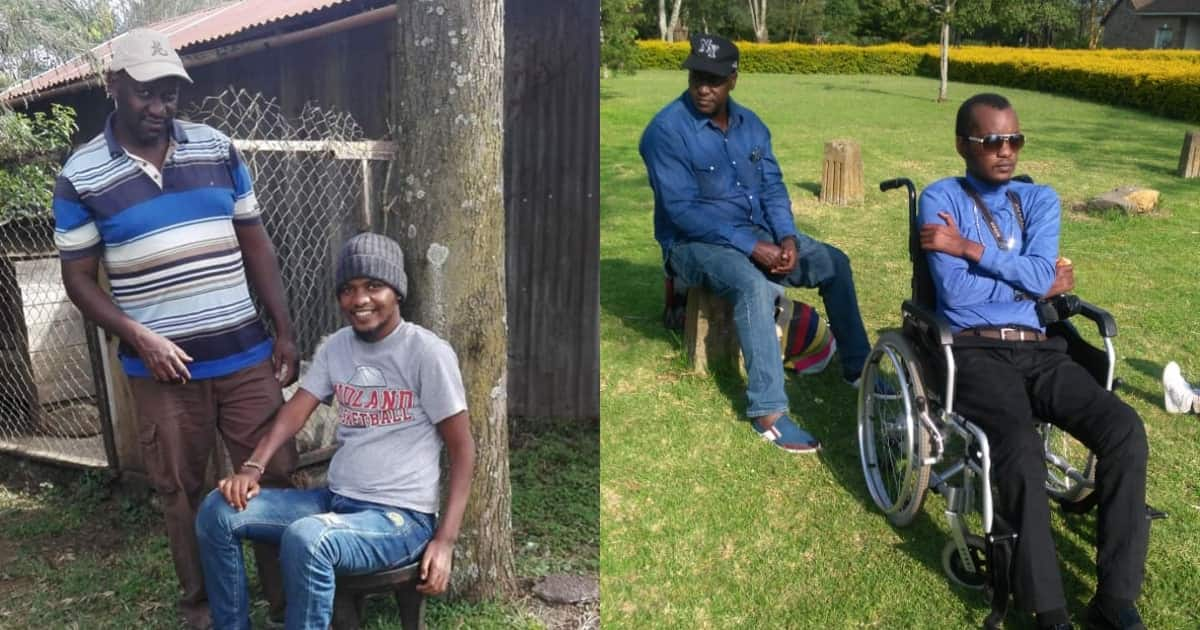 Son pays tribute to father who stuck by him through horrible accident