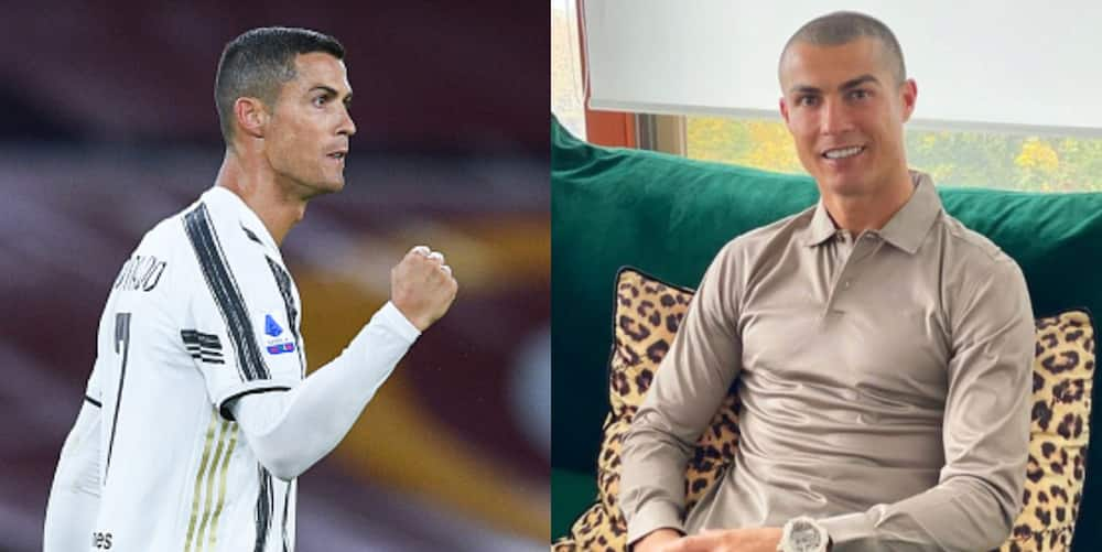 Cristiano Ronaldo says he is feeling good, healthy after testing for COVID-19