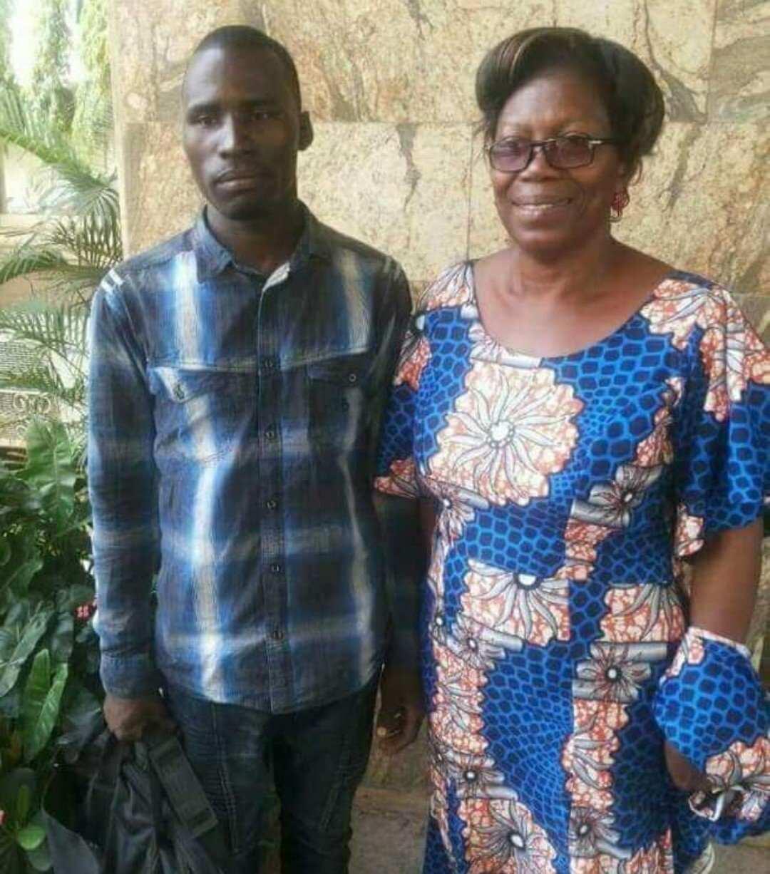 Abubakar Hassan and Professor Margaret Olabisi Araoye