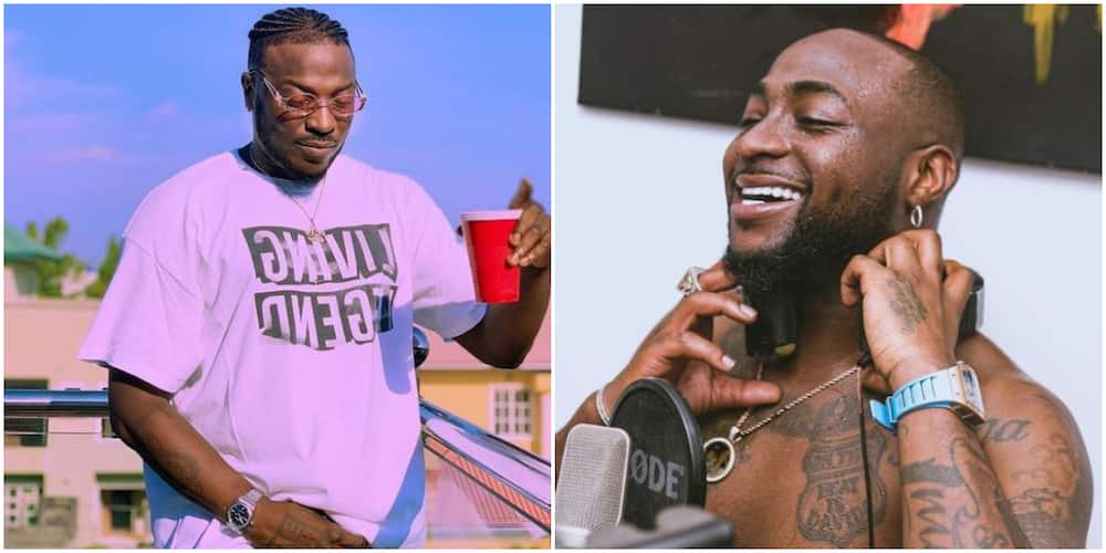 Singer Peruzzi says he has cashed out every year since he met Davido