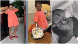Meet singer Timaya's pretty daughter as he celebrates her 5th birthday (photos, video)