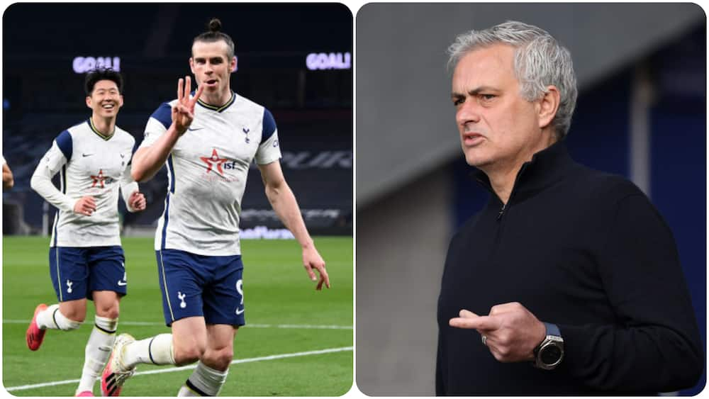 Mourinho Finally Reveals Why He Kept Bale On The Bench During His Spell With Tottenham