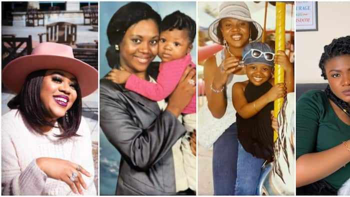 Actress Stella Damasus celebrates daughter's birthday, recounts struggles with first pregnancy at 21