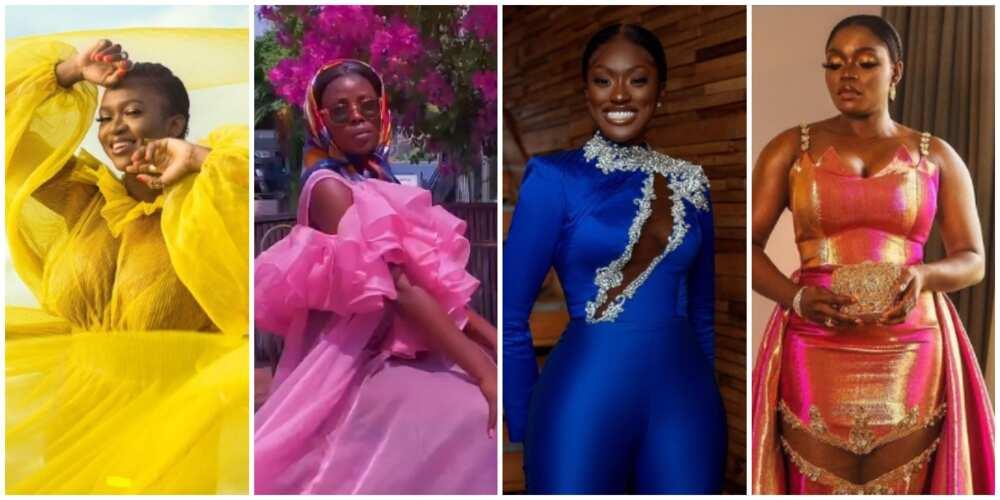 Black Girl Magic: X ebony stars show how to rock loud colours as a dark-skinned woman