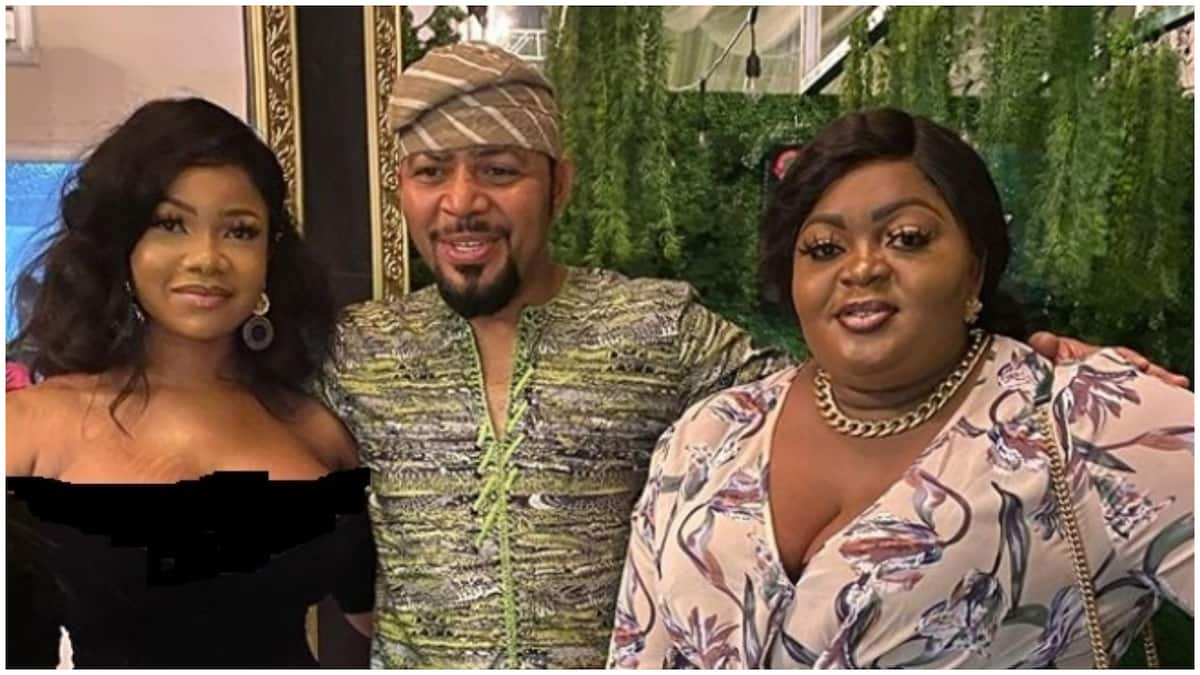 Nigerians slam Tacha over her revealing outfit to AMVCA nominees' party