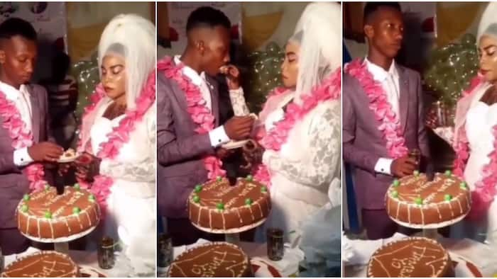 Why are they angry? Massive reactions trail couple's dramatic way of feeding each other with cake and drink