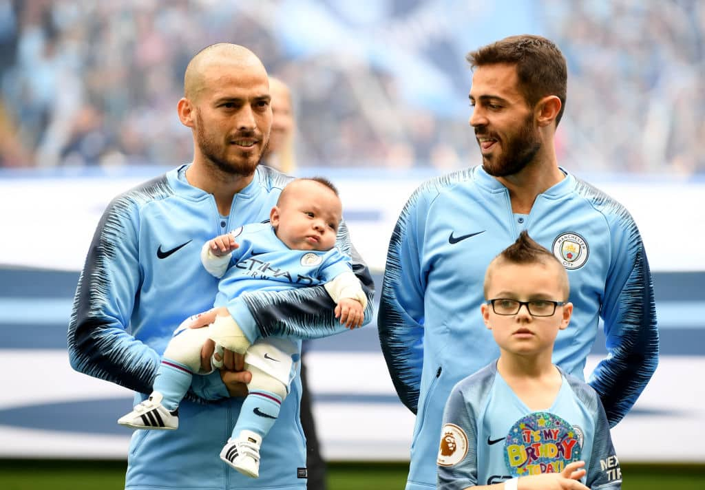 Man City's Silva reveals ordeal as baby son fought for his life