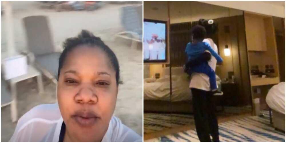 Actress Toyin Abraham shares family vacation photos and videos