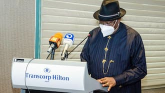 APC finally issues official reaction to Jonathan's alleged defection, speaks on giving him 2023 presidential ticket