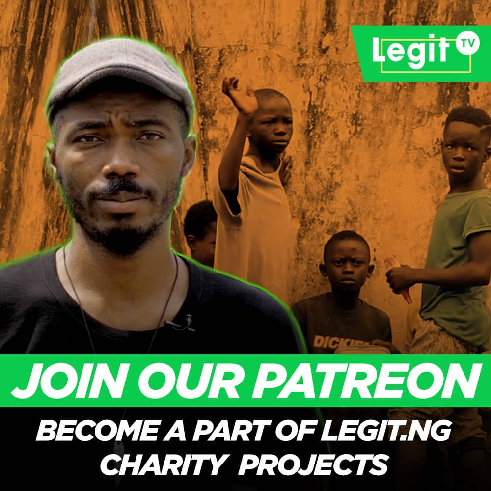 Help us change lives, join Legit.ng's Patreon programme
