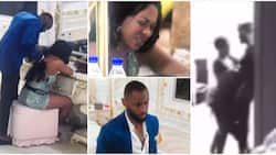 BBN: Emmanuel and Angel 'get cosy' in private corner hours after Liquorose cried to him over love, fans react