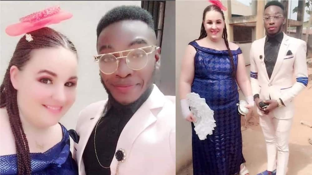 Yahoo sweet but being real legit pass - Man says as he's set to wed his oyinbo lover