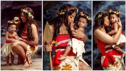 TBoss celebrates her daughter's first birthday with Moana-inspired photoshoot