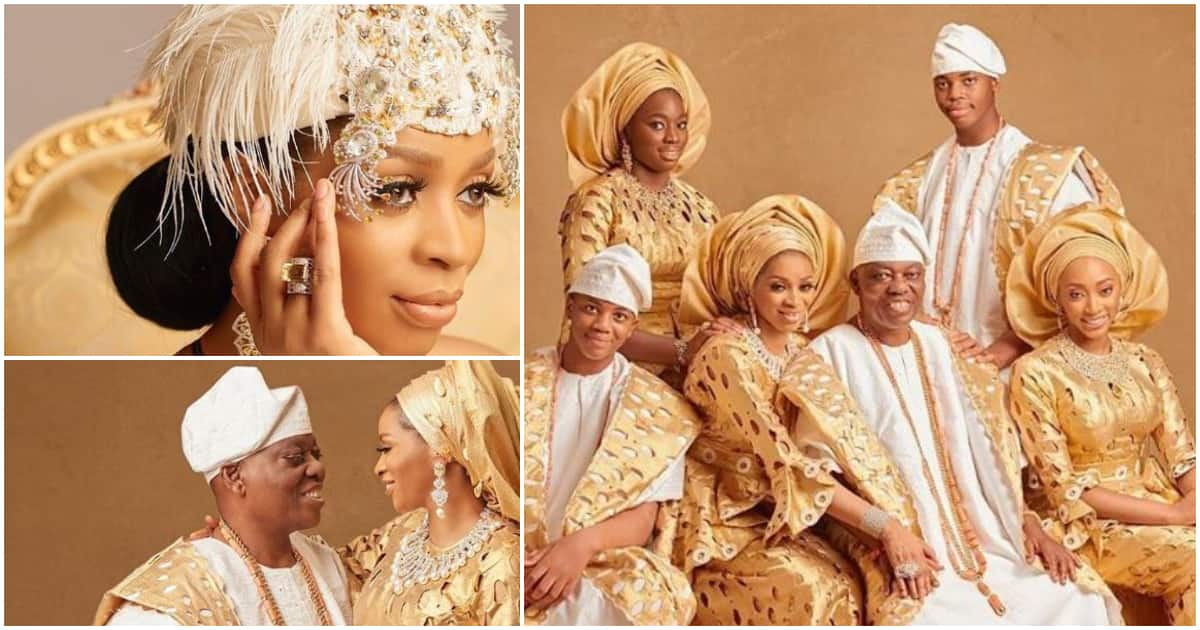 Sade Okoya turns 42, celebrates 20th wedding anniversary with billionaire husband Razaq Okoya (photos)
