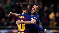 Valentine's Day: Here is Messi and 3 other stars who kissed on the pitch (photos)