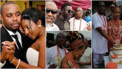 Ini Edo's ex-hubby remarries the 3rd time, Mercy Johnson's man spotted at wedding ceremony