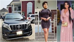 When you're big, you're large! Actress Mercy Aigbe acquires a Toyota Prado (photo)