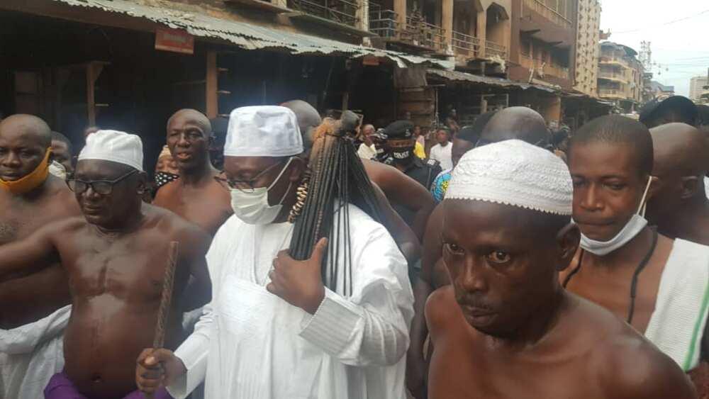 New Lagos monarch Oba Lawal names 2 top priorities to tackle