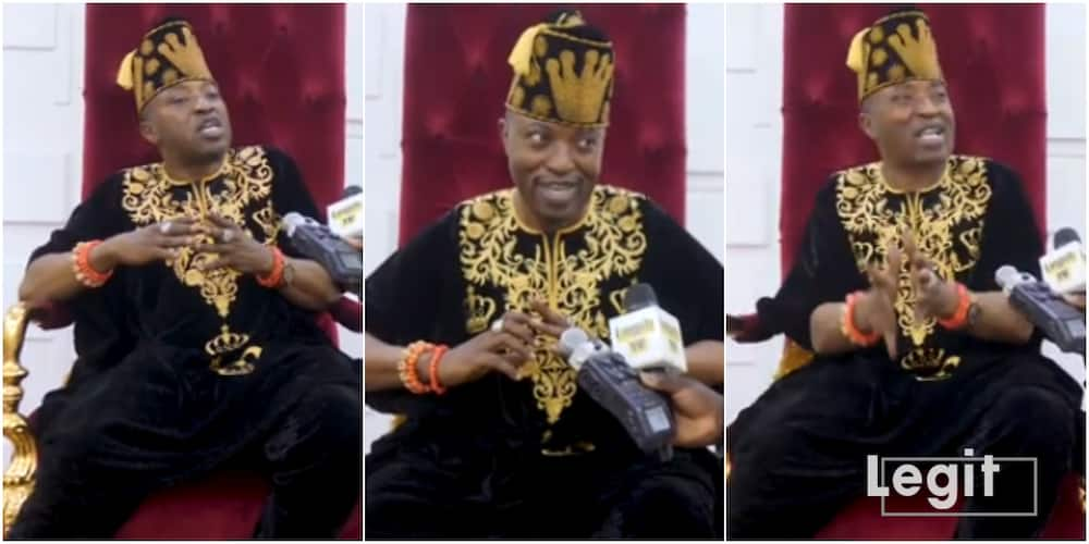 Despite COVID-19 striking in different communities, Oluwo finally reveals why Iwo doesn't have the disease