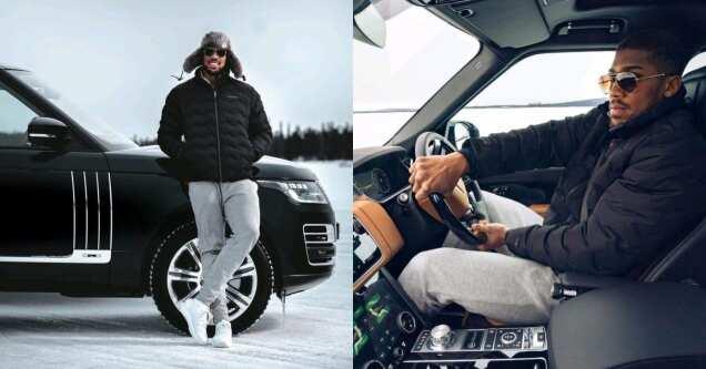 Anthony Joshua drives latest 2021 Range Rover