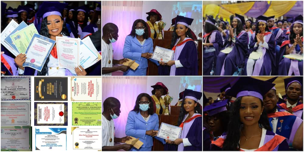 Chelsea Osayande bags a first class in medical laboratory science