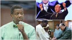 Pastor Adeboye mourns death of pastor Yonggi Cho who 'had the largest church congregation in the world'