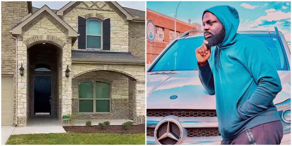 Singer Alaba Ultimate splashes hard currency on luxury mansion