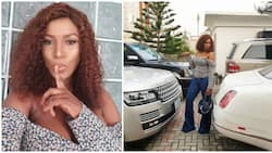 Linda Ikeji reveals her problem, says she is wondering which car to drive out (photo)