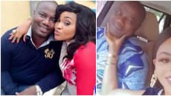 Actress Mercy Aigbe's ex-husband Lanre Gentry shows off new bae in trending video, fans react