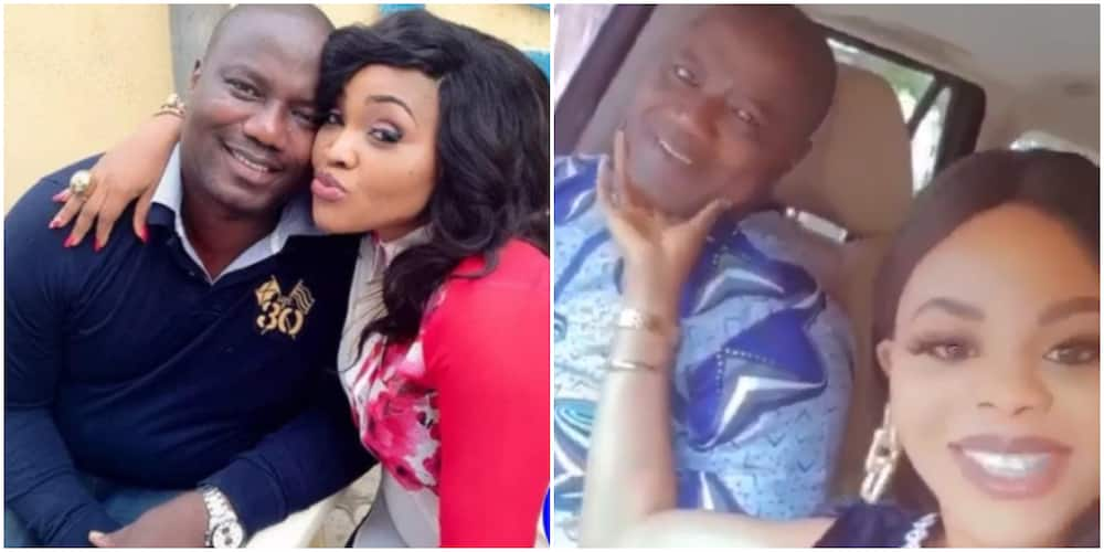 Actress Mercy Aigbe, Lanre Gentry.