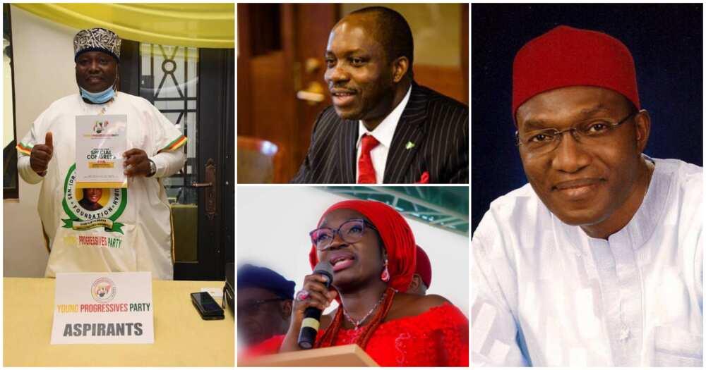 Anambra governorship aspirants