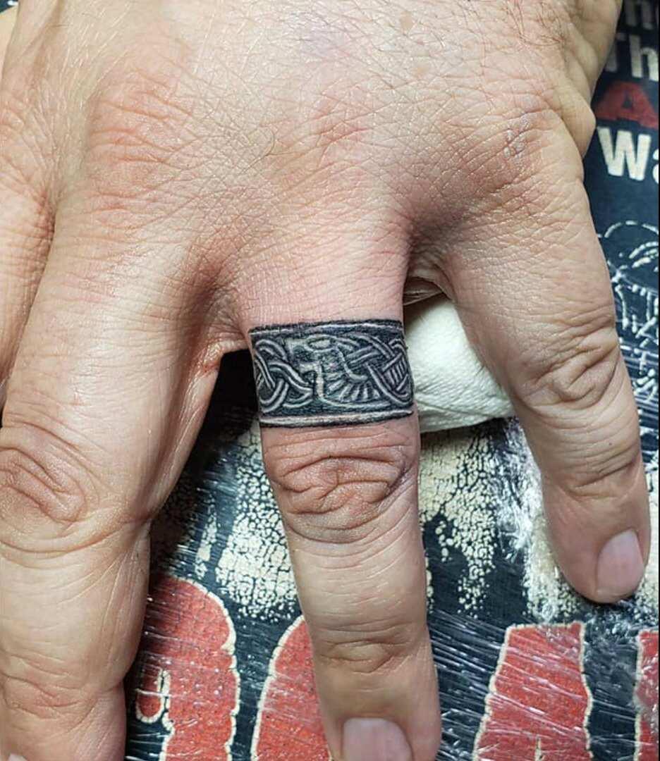 Ring tattoo ladies