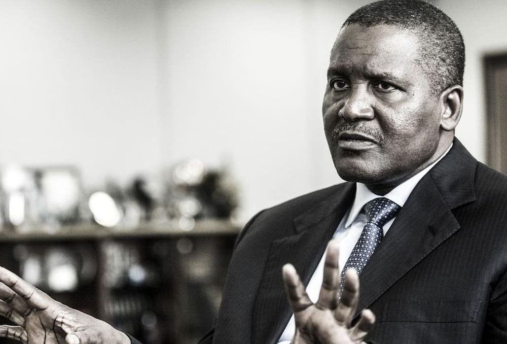 Aliko Dangote. Photo: Legit.ng