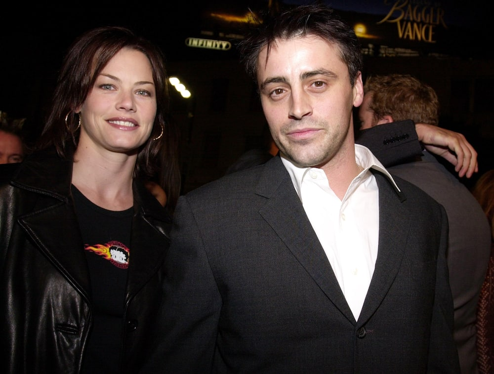 Matt LeBlanc and wife